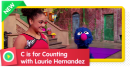 C is for Counting with Laurie Hernandez