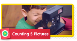 Counting 5 Pictures