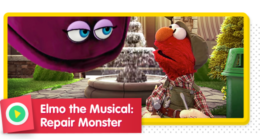 Elmo the Musical: Repair Monster