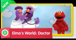 Elmo's World (Monster Edition): Doctors