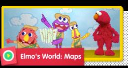 Elmo's World: Maps