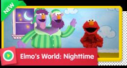 Elmo's World (Monster Edition): Nighttime