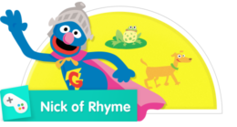 Super Grover in The Nick of Rhyme
