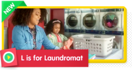 L is for Laundromat