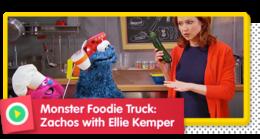 Monster Foodie Truck: Zachos with Ellie Kemper