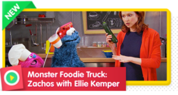 Monster Foodie Truck: Zachos with Ellie Kemper