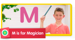 M is for Magician