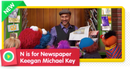 N is for Newspaper with Keegan Michael Key