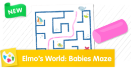 Elmo's World: Baby Seal's Maze