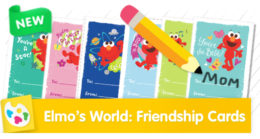 Elmo's World: Compliment Cards