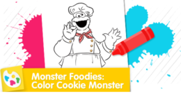 Chef Cookie Monster