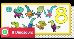 8 Dinosaurs