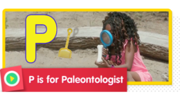 P is for Paleontologist