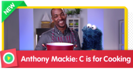C is for Cooking with Anthony Mackie