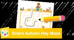 Ernie's Autumn Hay Maze