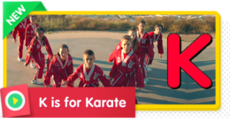 K is for Karate