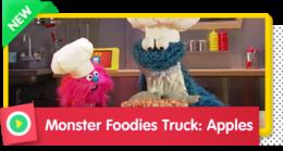 Monster Foodies Truck: Apples