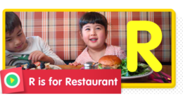 R is for Restaurant