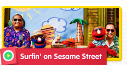 Surfin' on Sesame Street