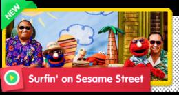 Surfin' on Sesame Street