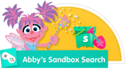 Help Abby find the objects hidden in the sand!