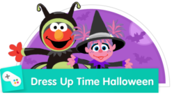 Play Dress-up with Elmo and Abby!