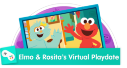 Hop on a video call to play games like Follow the Leader, Freeze Dance, What's Missing, and more!