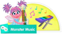 Make music with the Sesame Street friends!