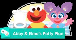 Help Abby and Elmo go potty!