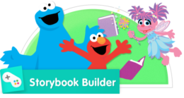Create stories with Elmo, Abby Cadabby, and Cookie Monster!
