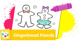 Have fun decorating the gingerbread friends.