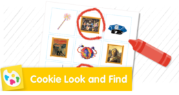 Can you find all of the items in The Cookie Thief?