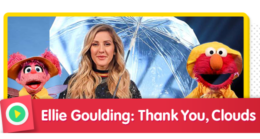 Sing along with Ellie Goulding and say thank you to the clouds for the rain drops from above.