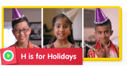 H is for Holiday! How do you spread holiday cheer?