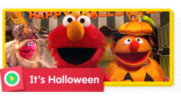Join your Sesame Street friends and celebrate Halloween!