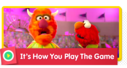 Athlete Elmo and friends sing about what winning means.