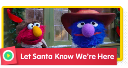 Sing along to spread cheer to let Santa know you're here!