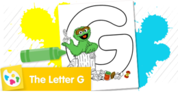 """""""G"""" stands for garbage. Color Oscar and all of his garbage."""