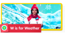 Watch what the weather is like in each season.