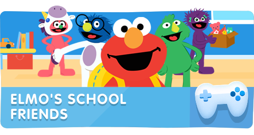 Elmo's School Friends