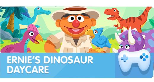 Ernie's Dinosaur Daycare