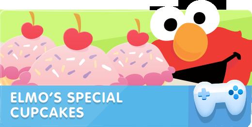 Elmo's Special Cupcakes
