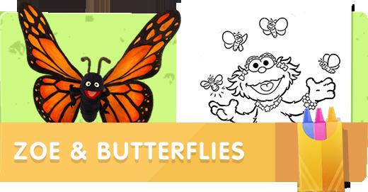 Zoe & Butterflies