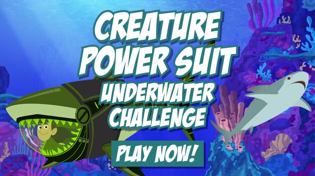 Underwater Challenge Card