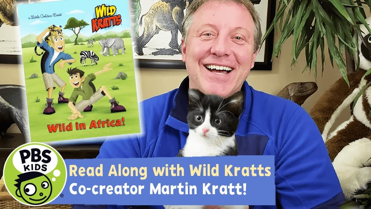 Wild Kratts Read Along with Martin Kratt