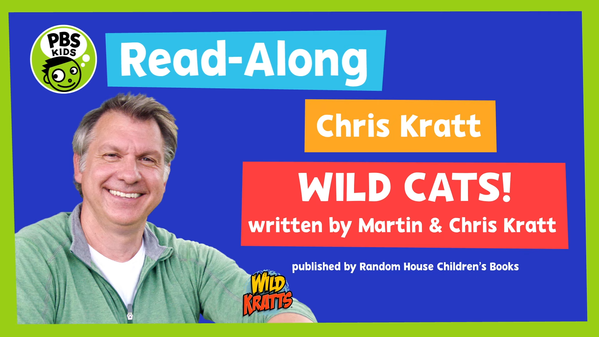 Wild Kratts Cats and Dogs Read Along with Chris Kratt
