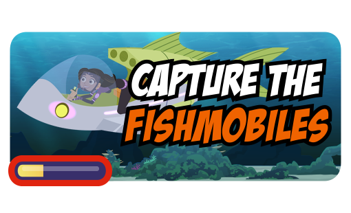 Capture the Fishmobiles