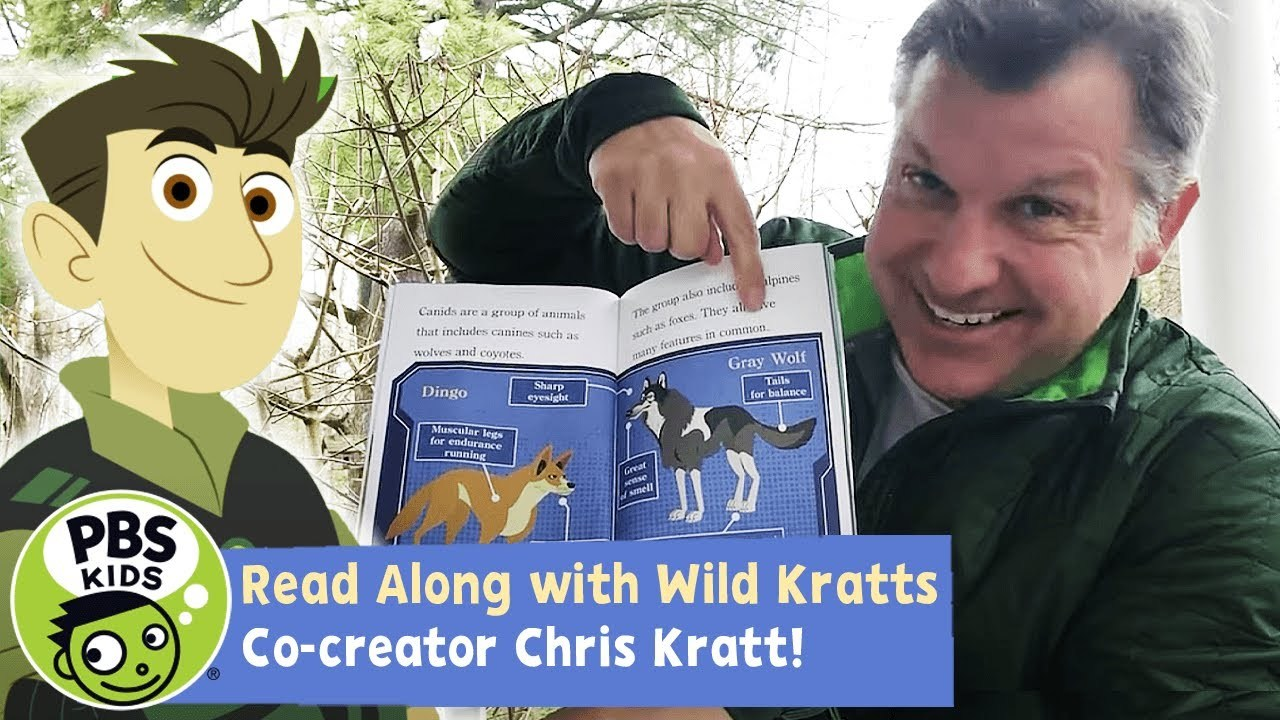 Wild Kratts Read Along with Chris Kratt