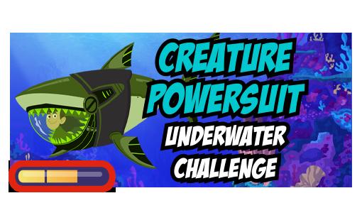 Creature Powersuit Underwater Challenge