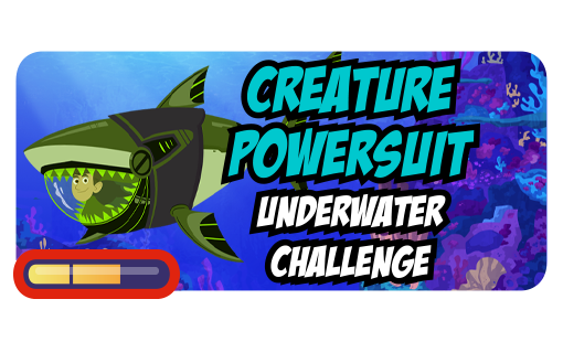 Creature Powersuit Underwater Challenge